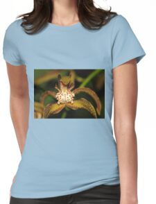 Orchid Macro Womens Fitted T-Shirt