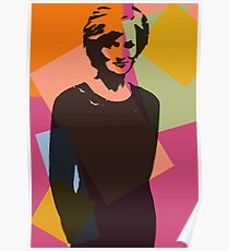 Princess Diana - Queen of Hearts Poster