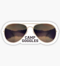 Camp Goggles stickers Sticker