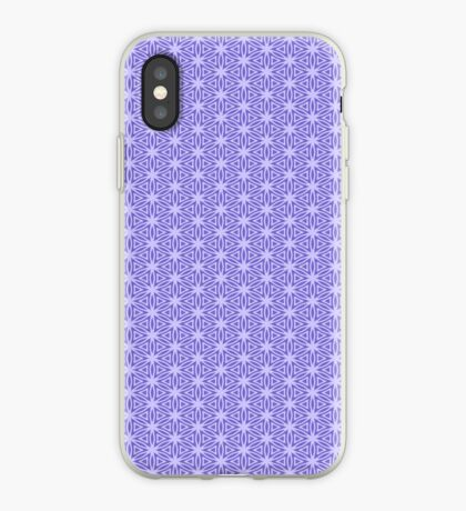 Periwinkle Snowflake iPhone Case