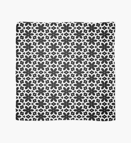Black & White Flower  Scarf