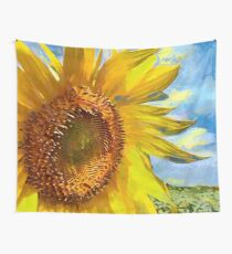 CM6972 - Flower Sunflower Wall Tapestry