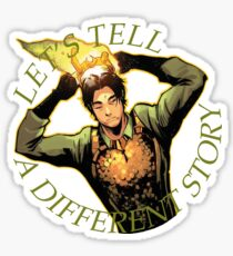 LET'S TELL A DIFFERENT STORY Sticker