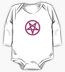 PINK PENTAGRAM One Piece - Long Sleeve