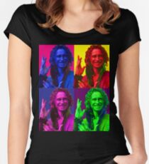 Rumpelstiltskin Pop-Art Women's Fitted Scoop T-Shirt
