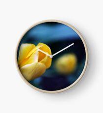 Yellow Tulip Clock