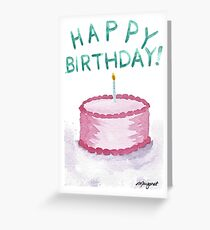 2017 Birthday Collection- Bubblegum Greeting Card