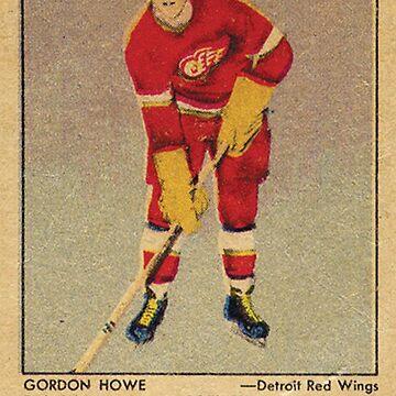 Gordie Howe NHL Rookie Card de hackeycard
