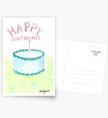 2017 Birthday Collection- Cotton Candy Postcards