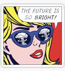 Pop Optimistic Girl Sticker