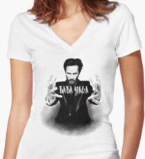 Keanu Reeves Women's Fitted V-Neck T-Shirt