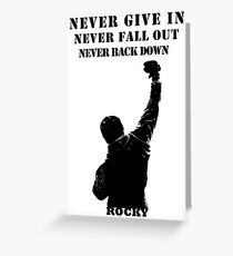 Rocky Inspiration Greeting Card
