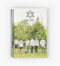 astro - summer vibe Spiral Notebook