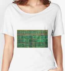 Old Green Tiles Women's Relaxed Fit T-Shirt