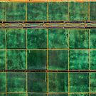 Old Green Tiles by sjphotocomau