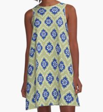 Mughal lattice A-Line Dress