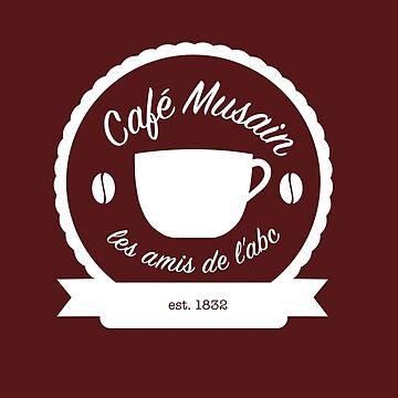 Cafe Musain - White by jojoballz