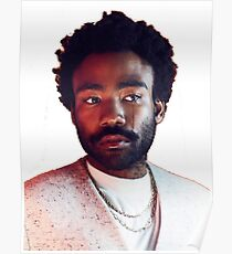 Donald Glover Tear Poster