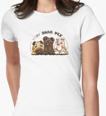 Chinese Shar Pei Lover Women's Fitted T-Shirt