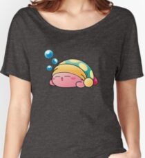 Sleeping Kirby Women's Relaxed Fit T-Shirt