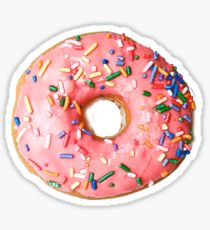 Sprinkled Donut Sticker