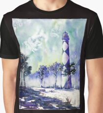 Cape Lookout Lighthouse- North Carolina Graphic T-Shirt
