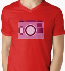 Retro Old-Time Camera, Pink T-Shirt