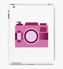 Retro Old-Time Camera, Pink iPad Case/Skin