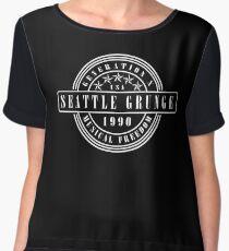 Seattle Grunge Chiffon Top