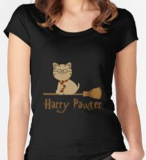 Harry Pawter Women's Fitted Scoop T-Shirt