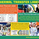 Barcode Labels by Thermal Transfer Labels