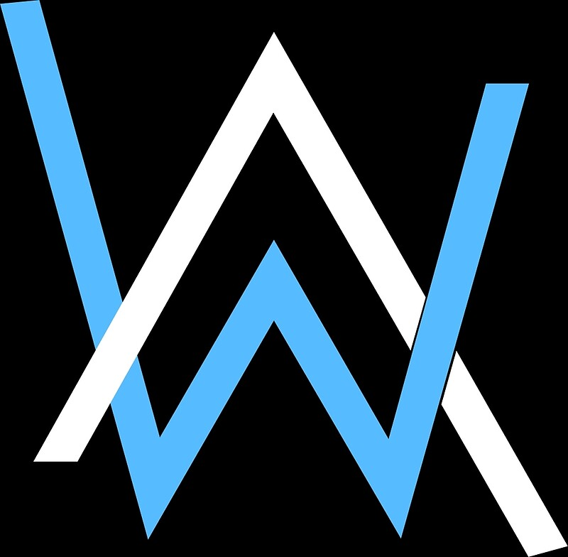 Alan walker logo wall art redbubble - Alan walker logo galaxy ...