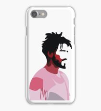 J. Cole profile view iPhone Case/Skin