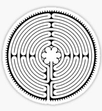 Chartres Labyrinth Sticker