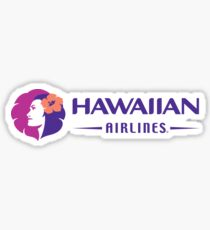 Hawaiian Airlines Sticker