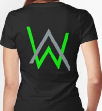 alan walker music Women's Fitted V-Neck T-Shirt