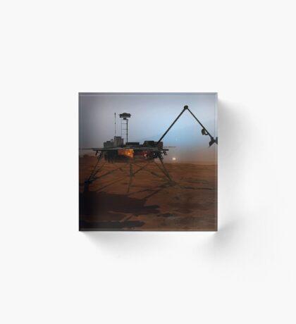 Phoenix Mars Lander Acrylblock