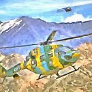 Helicopter coming and going by ashishagarwal74