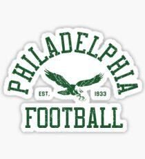 Philadelphia Football - Vintage Sticker