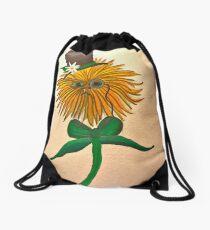 Dandy Lion Drawstring Bag