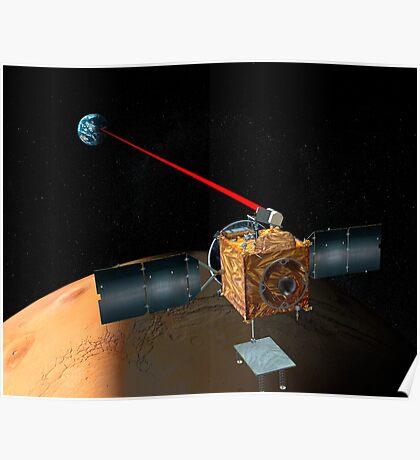 Mars Telekommunikation Orbiter Poster