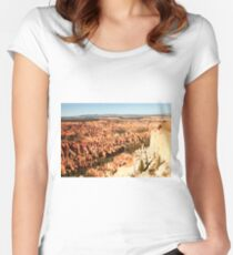 Bryce Canyon, National Park, Utah, USA Women's Fitted Scoop T-Shirt