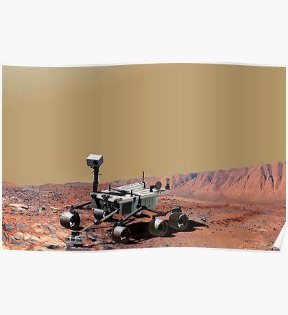 Mars Wissenschaftslabor Poster