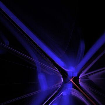Blue X by TaniaRose