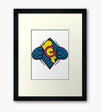 I'm Super Grover Framed Print