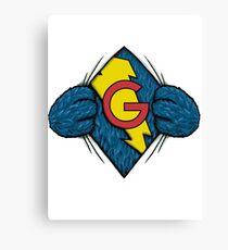 I'm Super Grover Canvas Print