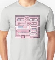PkMn - Fuchsia City Full Graphic Tee Unisex T-Shirt