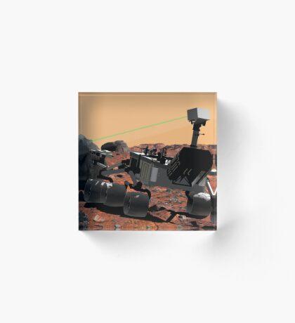 Mars Wissenschaftslabor Acrylblock