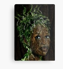 The Forest Nymph Metal Print