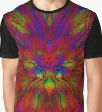 Orchid Impression Graphic T-Shirt